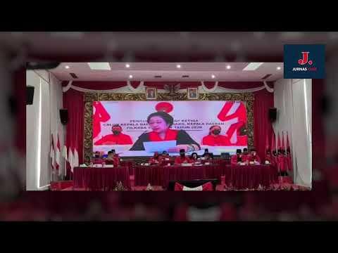 Arahan Ketum PDIP Megawati Soekarnoputri kepada Para Calon Kepala Daerah