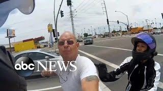 Frightening Road Rage Case Caught On Video