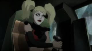 Batman saves Harley Quinn | Batman: Assault on Arkham [Русские субтитры]