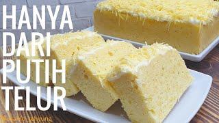 Resep Cheese Cake Putih Telur | Bolu Kukus Putih Telur