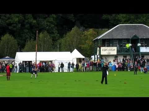 Caber Toss at the Highland Games