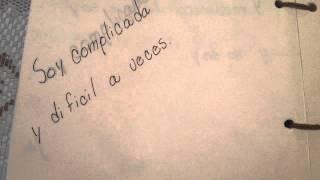 Manual lyric Paty Cantú