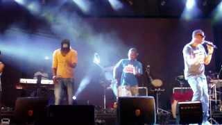 Anselmo Ralph e os B.E.D-Animal- insaio em palco 01