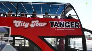 Les visiteurs de Tanger découvrent le nouveau bus touristique de la ville