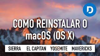 Como reinstalar o OS X (formatar mac / instalação limpa) - Guia / Tutorial