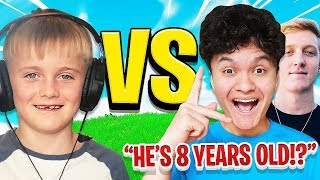 This 8 Year Old is Better than FaZe Jarvis & Tfue at Fortnite