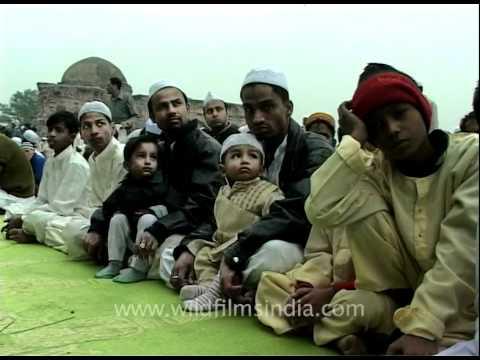 Eid mubaraq at Firoz Shah Kotla