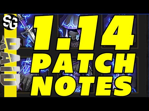 RAID SHADOW LEGENDS | 1.14 PATCH NOTES | PARTIAL PATCH NOTES