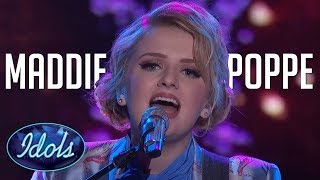 MADDIE POPPE TOP 10 Most Amazing Auditions & Performances On American idol 2018! width=
