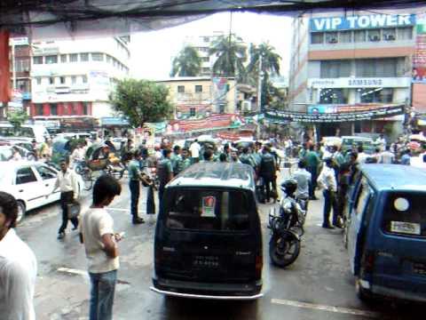 アキーラさんデモ遭遇2!バングラデッシュ・ダッカ!Demo,Dahka,Bangladesh