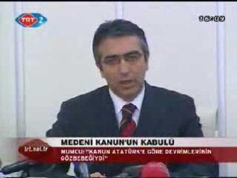 """Erkan Mumcu """"Medeni Kanun"""""""