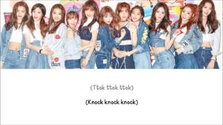 Knock Knock Knock I.O.I Lyrics (Color Coded) [ENG+ROM]