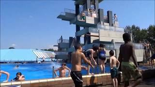 10-Meter-Sprungturm im Freibad Sportparadies Gelsenkirchen