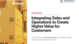 Sales + Operations