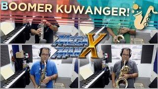 "Boomer Kuwanger (From ""Mega Man X"") Saxophone Game Cover"