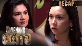 Romina and Daniela's another squabble in Camila | Kadenang Ginto Recap (With Eng Subs)