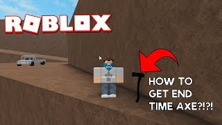 [LUMBER TYCOON] HOW TO GET END TIME AXE?!?!