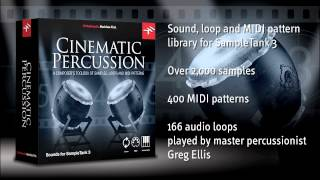 Cinematic Percussion for SampleTank 3