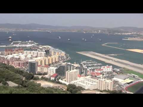 Views from the Rock of Gibraltar – 28th July, 2010