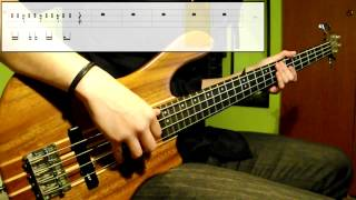 Bruno Mars - Treasure (Bass Cover) (Play Along Tabs In Video)