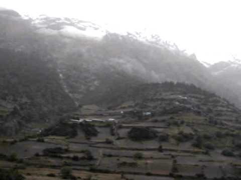 Martin in Nepal – Video aus Pisang