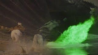 Jaime Lannister vs Daenerys but the dragon spits GREEN fire