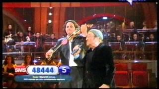 """Lucio Dalla & Olen Cesari in """"Canzone"""""""