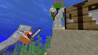 Minecraft Speedrunner VS Hunter (Again)