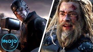 Top 10 Best Avengers Endgame Moments