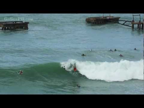 Crash Boat Surf Video Hurricane Sandy Aguadilla PR October 29 2012