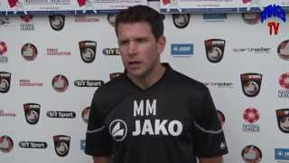 WingsTV @ACSWelling A minute with Matt McEntegart after Braintree Town home