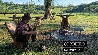CORDEIRO NA ESTACA