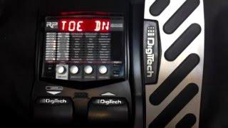 Como resetear pedalera Digitech Rp 255