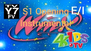 Winx Club 4Kids Season 1 opening instrumental