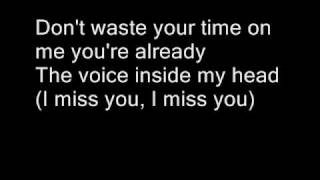 Blink 182-I miss you Lyrics