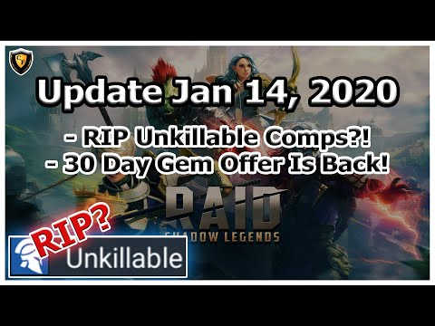 RAID Shadow Legends | RIP Unkillable Comps?! | Monthly Gem Offer Is Back!
