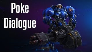 Tychus Poke Dialogue | All Quotes | Heroes of the Storm