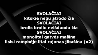 Mad Money - Svolačiai (Lyrics)
