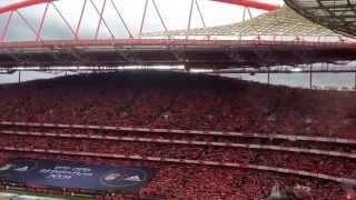 Ser Benfiquista - Hino do Benfica (Estádio da Luz - Jogo do Título 2013/2014)
