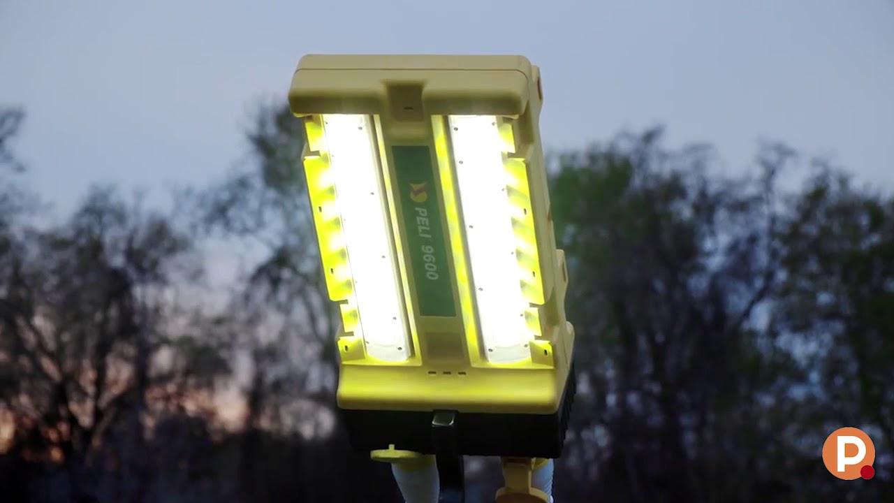 Tête d'éclairage Peli 9600 modulaire