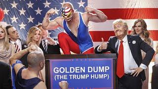 Klemen Slakonja as Donald Trump ft. Melania Trump - Golden Dump (The Trump Hump)/#TheMockingbirdMan/