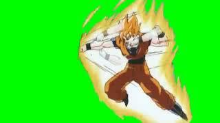 Goku Green Screen