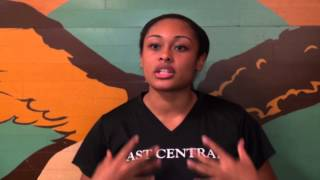 Interview with East Central Tigers Kaci harrison