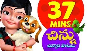 Chinnu Telugu Rhymes for Children Vol. 1 | Infobells width=