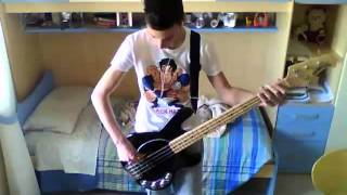 Red Hot Chili Peppers - Suck My Kiss (Bass Cover)