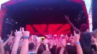 Big Day Out 2013 Sydney. The Killers - Mr Brightside [live]