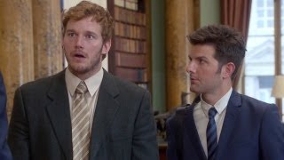 Parks and Recreation - Andy and Ben in London