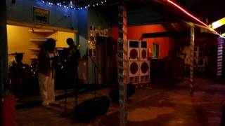 Live Reggae at Alfred's beach bar Negril, Jamaica.