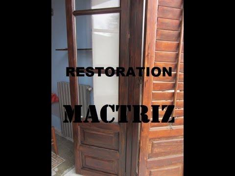 Come sostituire il vetro in una porta di legno fai da te mania - Tagliare vetro finestra ...