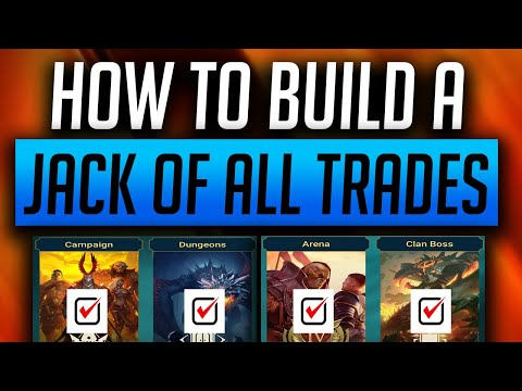 RAID: Shadow Legends | How to build a champion to tackle ALL CONTENT! Free to play | Mid Game |
